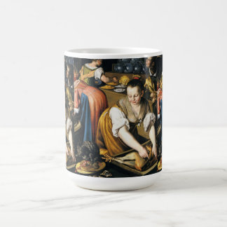 The Kitchen in detail by Vincenzo Campi Coffee Mug