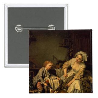 The Kitchen Maid Pinback Button