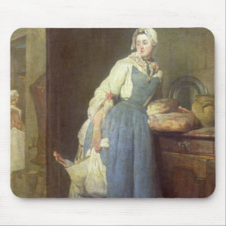 The Kitchen Maid with Provisions, 1739 Mouse Pad