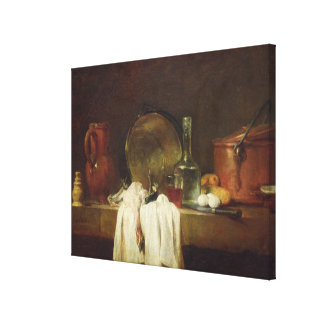 The Kitchen Table Canvas Print