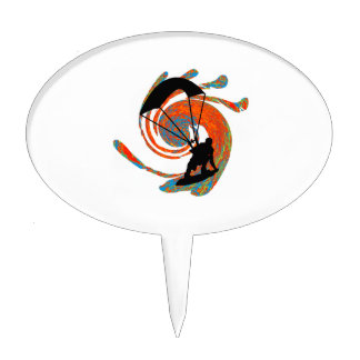 THE KITEBOARD SYSTEMIC CAKE TOPPER