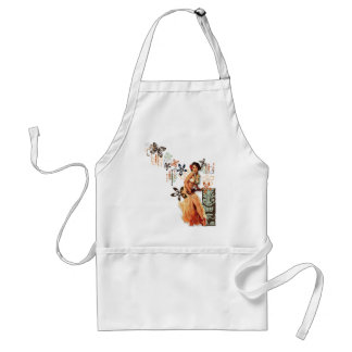 The Kitsch Bitsch : Aloha Oops! Adult Apron