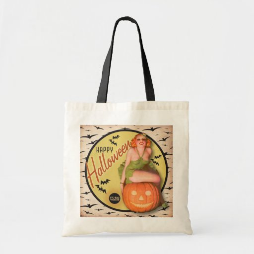 The Kitsch Bitsch : Boo-Tacular Retro Halloween Tote Bags