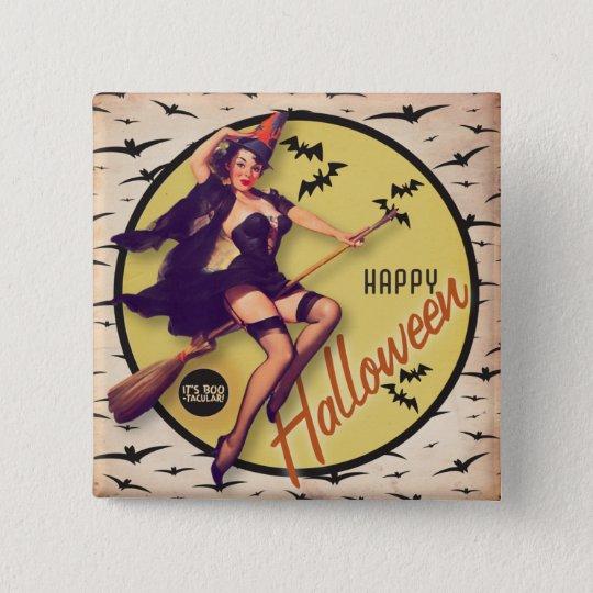 The Kitsch Bitsch : Boo-Tacular Retro Halloween Button