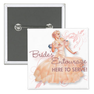 The Kitsch Bitsch : Bride's Entourage! Button