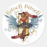 The Kitsch Bitsch : Dancing Doll Tattoo Pin-Up Sticker
