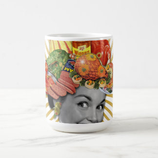 The Kitsch Bitsch © : Famously Festooned! Classic White Coffee Mug