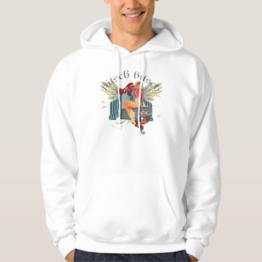The Kitsch Bitsch : Fly Girl Tattoo Pin-Up Hoodie