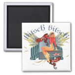 The Kitsch Bitsch : Fly Girl Tattoo Pin-Up Refrigerator Magnets