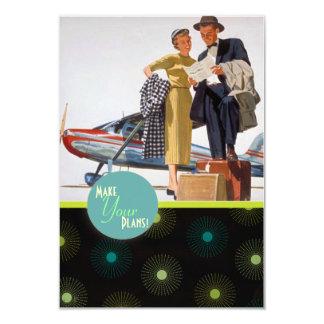 The Kitsch Bitsch : For Better ... Travel Insert 3.5x5 Paper Invitation Card