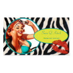 The Kitsch Bitsch : Glam-A-Zon Double-Sided Standard Business Cards (Pack Of 100)