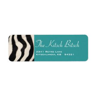 The Kitsch Bitsch : Glam-A-Zon Label