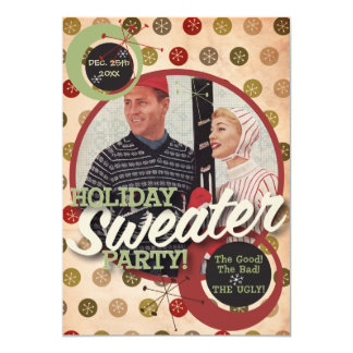The Kitsch Bitsch : Holiday Sweater Party! Custom Invite