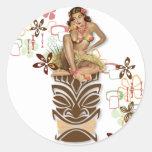 The Kitsch BItsch : Hula Hips! Classic Round Sticker