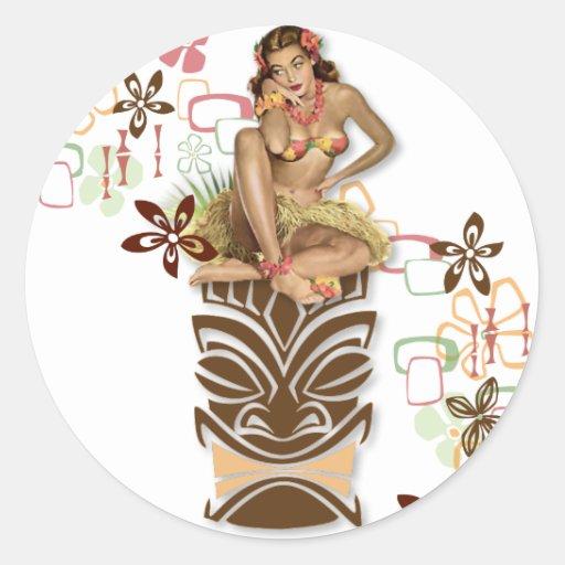The Kitsch BItsch : Hula Hips! Stickers