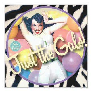 The Kitsch Bitsch : Just The Gals! Card