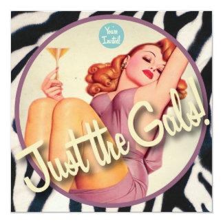 The Kitsch Bitsch : Just The Gals! Card