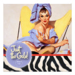 The Kitsch Bitsch : Just The Gals! Spa-tacular! Custom Invites