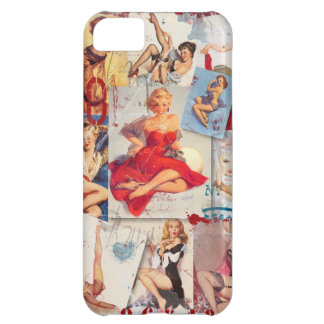 The Kitsch Bitsch © : Love Pin-Up Collage Cover For iPhone 5C