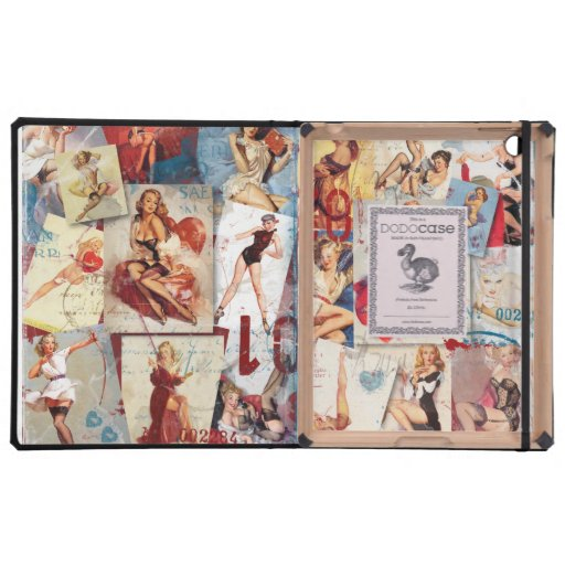 The Kitsch Bitsch © : Love Pin-Up Collage DODOcase iPad Covers