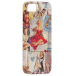 The Kitsch Bitsch © : Love Pin-Up Collage iPhone SE/5/5s Case