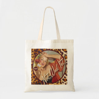 The Kitsch Bitsch : Not Wed Yet! Budget Tote Bag