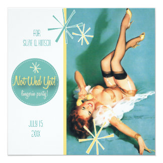 The Kitsch Bitsch : Not Wed Yet! Foundation Party Card