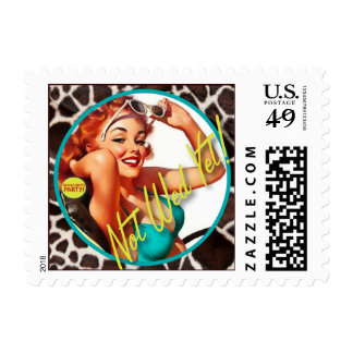 The Kitsch Bitsch : Not Wed Yet! Stamps