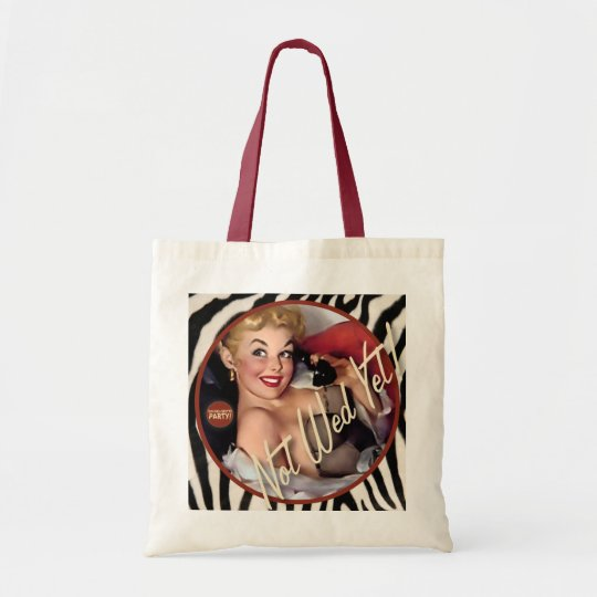The Kitsch Bitsch : Not Wed Yet! Tote Bag