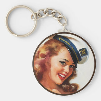 The Kitsch BItsch : Pin-Up Portraits Keychain