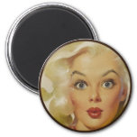 The Kitsch BItsch : Pin-Up Portraits Refrigerator Magnet
