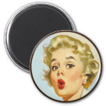 The Kitsch BItsch : Pin-Up Portraits Fridge Magnets