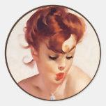 The Kitsch Bitsch : Pin-Up Portraits Sticker