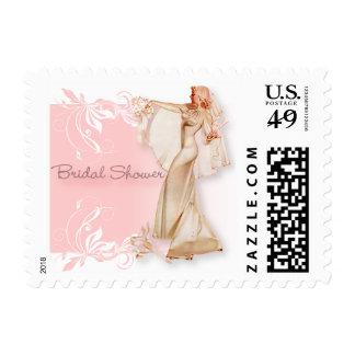 The Kitsch Bitsch : Retro Bridal Shower Stamp