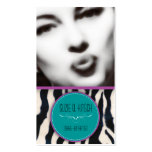 The Kitsch Bitsch : Retro Glamour Girl Business Card Templates