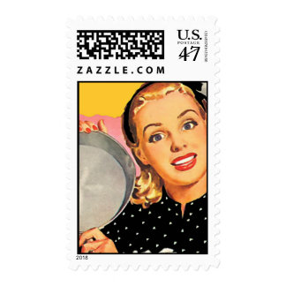 The Kitsch Bitsch: Retro Kitschen Postage Stamp