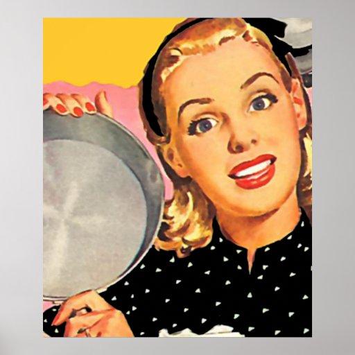 The Kitsch Bitsch: Retro Kitschen Poster