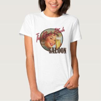 The Kitsch Bitsch : Saloon Pin-Up Shirt
