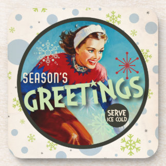 The Kitsch Bitsch : Season's Greetings! Coaster