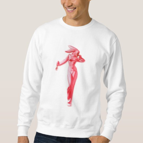 The Kitsch Bitsch : Sexy Bunny Suit Pin-Up Sweatshirt