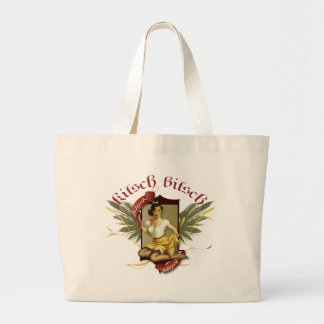 The Kitsch Bitsch Soda Girl Tattoo Pin-Up Canvas Bag