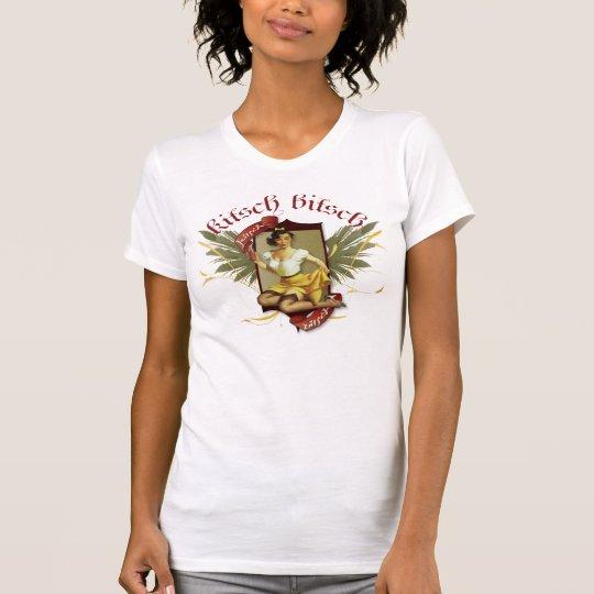 The Kitsch Bitsch : Soda Girl Tattoo Pin-Up T-Shirt