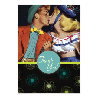 The Kitsch Bitsch : Thank You! Thank You! Card