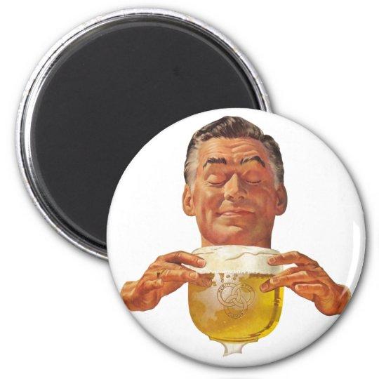 The Kitsch Bitsch : The Beer Guy! 2 Inch Round Magnet