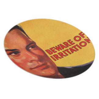 The Kitsch Bitsch™: Vintage Advertising Graphics Melamine Plate