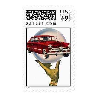 The Kitsch Bitsch : Vintage Car Graphic #1 Stamps