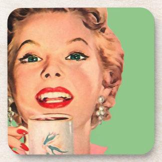 The Kitsch Bitsch : Vintage Coffee Graphic Coaster