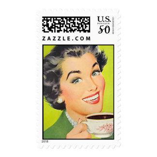 The Kitsch Bitsch : Vintage Coffee Graphic Postage