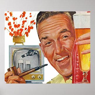 The Kitsch Bitsch : Vintage Dad Graphic Poster