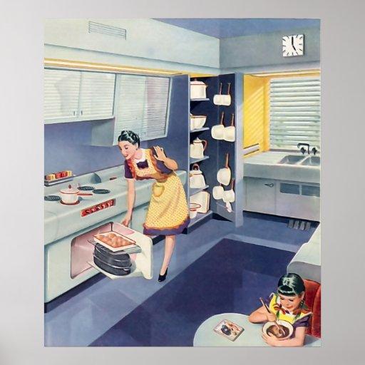 The Kitsch Bitsch : Vintage Kitschen Graphic Poster